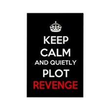 Keep Calm Revenge Rectangle Magnet