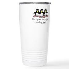 Cute Penguins are cool Travel Mug