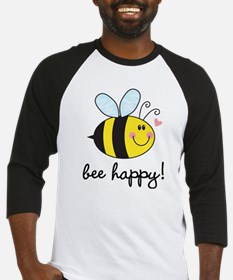 Bee Happy Baseball Jersey