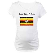 Custom Distressed Uganda Flag Shirt