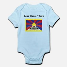 Custom Distressed Tibet Flag Body Suit
