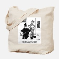 Call A Locksmith, Not a Lawyer Tote Bag