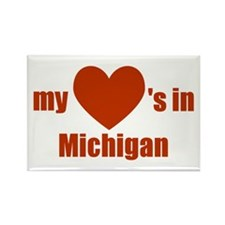 Michigan Rectangle Magnet (10 pack)
