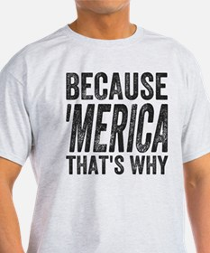 Because 'Merica That's Why T-Shirt