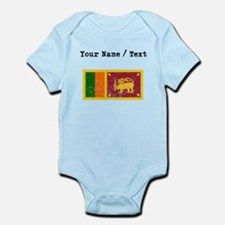 Custom Distressed Sri Lanka Flag Body Suit
