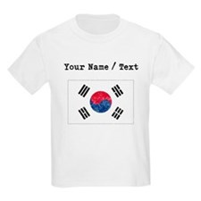 Custom Distressed South Korea Flag T-Shirt