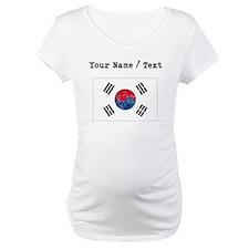 Custom Distressed South Korea Flag Shirt