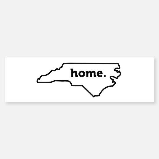 Home North Carolina-01 Bumper Bumper Bumper Sticker