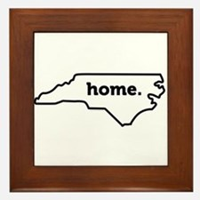 Home North Carolina-01 Framed Tile