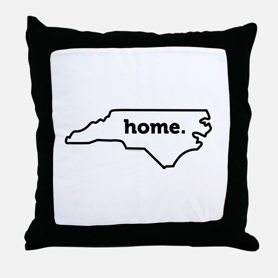 Home North Carolina-01 Throw Pillow