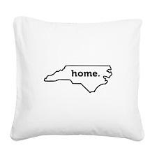 Home North Carolina-01 Square Canvas Pillow