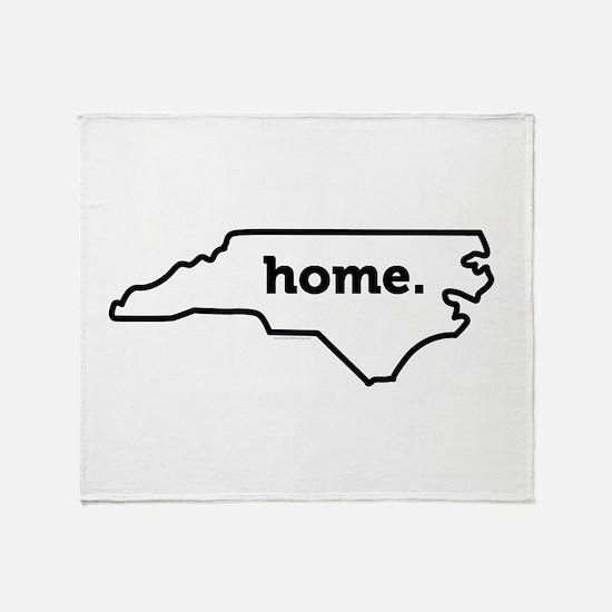 Home North Carolina-01 Throw Blanket