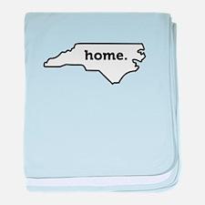 Home North Carolina-01 baby blanket