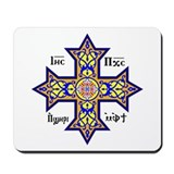 Christian symbol Mouse Pads