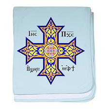 """Coptic Cross"" baby blanket"