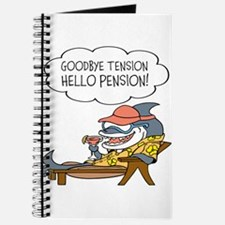 Goodbye Tension Hello Pension Retirement Journal