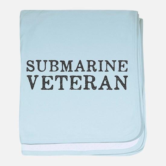 Submarine Veteran baby blanket