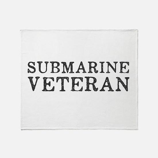 Submarine Veteran Throw Blanket