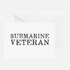 Submarine Veteran Greeting Card
