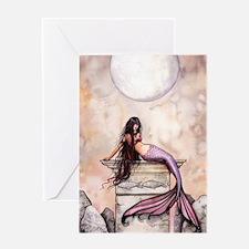 Sea Princess Mermaid Fantasy Art Greeting Cards