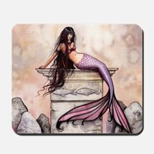 Sea Princess Mermaid Fantasy Art Mousepad