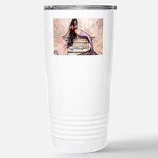 Sea Princess Mermaid Fantasy Art Travel Mug
