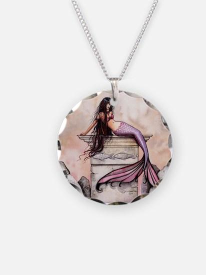 Sea Princess Mermaid Fantasy Art Necklace