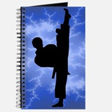 Martial Arts Person Journal