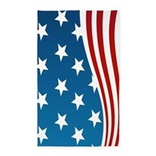 American Flag 3'x5' Area Rug