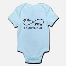 Custom Infinity Mr. and Mrs. Onesie
