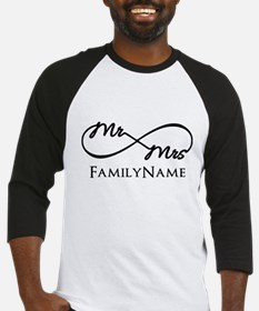 Custom Infinity Mr. And Mrs. Baseball Jersey