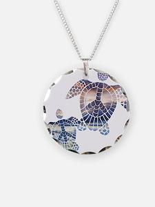Peace Turtles-2 Necklace