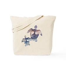 Peace Turtles-2 Tote Bag