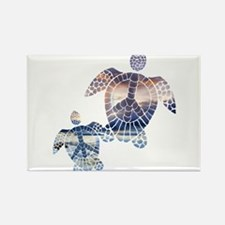Peace Turtles-2 Magnets
