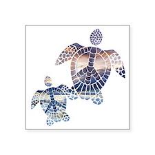 Peace Turtles-2 Sticker