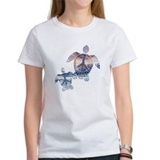 Peace Turtles-2 T-Shirt