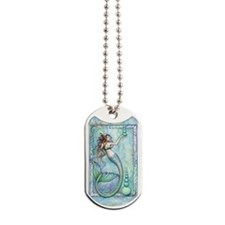 Balance Mermaid Fantasy Art Dog Tags