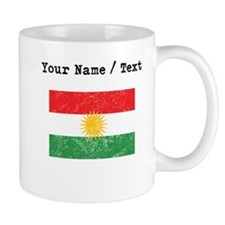 Custom Distressed Kurdistan Flag Mugs