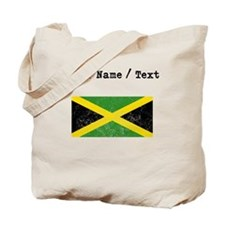Custom Distressed Jamaica Flag Tote Bag