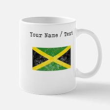 Custom Distressed Jamaica Flag Mugs