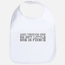 She is Fierce Bib