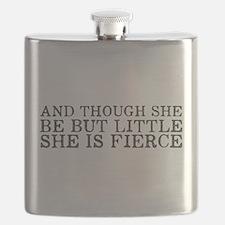She is Fierce Flask