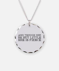 She is Fierce Necklace