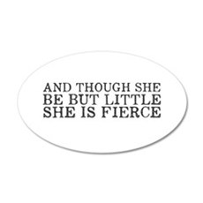 She is Fierce Wall Decal