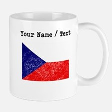 Custom Distressed Czech Republic Flag Mugs