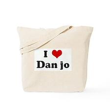 I Love Dan jo Tote Bag