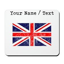 Custom Distressed Britain Flag Mousepad