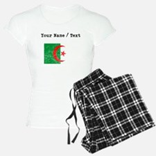 Custom Distressed Algeria Flag Pajamas
