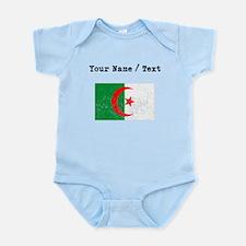 Custom Distressed Algeria Flag Body Suit