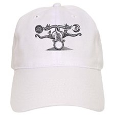 Entwined Hermetic Dragons Baseball Cap